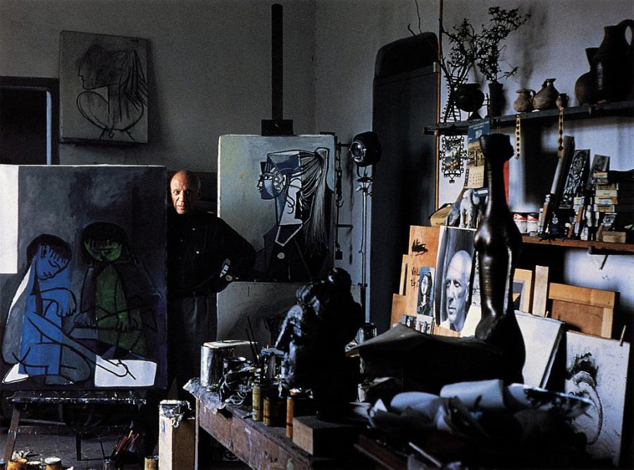 Pablo-Picasso-by-Alexander-Liberman