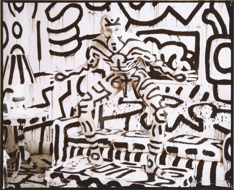keith-haring-by-annie-leibovitz