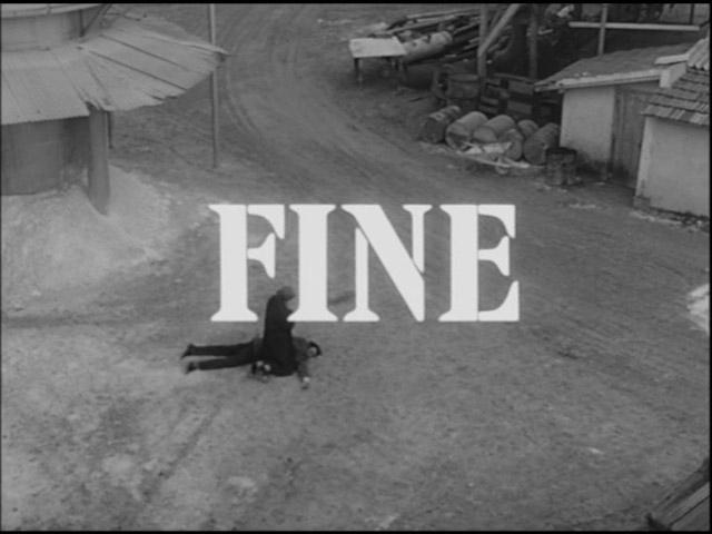 il-grido-movie-end-title-screen